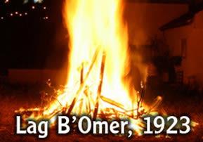 Lag B'Omer 1923