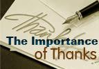 Ki Tavo: The Importance of Thanks