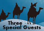 Three Special Guests - Vayeira