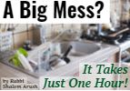 A Big Mess? It Takes Just One Hour!