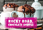 Rocky Road, Chocolate Souffle