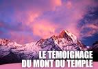 Le témoignage du Mont du Temple