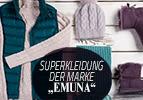 """Superkleidung der Marke """"Emuna"""""""