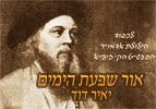אור שבעת הימים, יאיר דוד