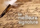 La meilleure signature