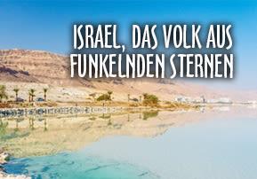 Israel, das Volk aus funkelnden Sternen