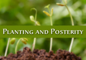 Planting and Posterity