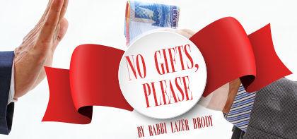 Korach: No Gifts, Please