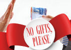 Korach: No Gifts, Please