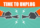 Shabbat - Time to Unplug From A Fake World