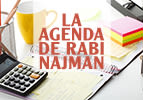 La agenda de Rabi Najman