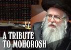 A Tribute to Mohorosh -Rabbi Eliezer Shlomo Schick
