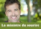La ministre du sourire