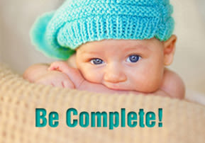 Be Complete!