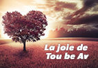 La joie de Tou be Av