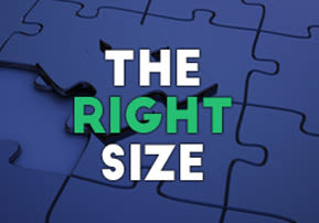 The Right Size