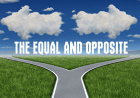 The Equal and Opposite