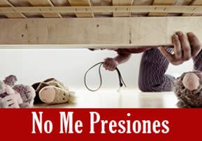 No Me Presiones