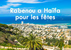 Rabenou a Haïfa pour les fêtes