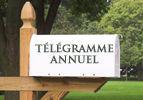 Télégramme annuel