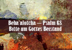 Beha'alotcha-Psalm 68