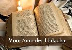 Vom Sinn der Halacha