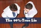 The 99%-True Lie