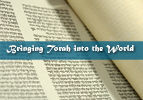 Bringing Torah into the World