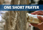One Short Prayer