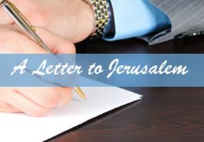 A Letter to Jerusalem