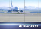 ABC or ZYX?