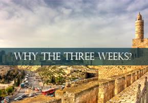 Why The Three Weeks?