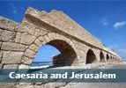 Caesaria and Jerusalem