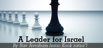 Masei: A Leader for Israel