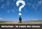 Definition - im Namen des Volkes