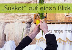 """""""Sukkot"""" auf einen Blick"""