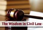 The Wisdom in Civil Law
