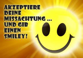 ...gib einen Smiley