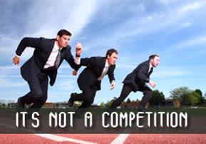It's Not a Competition