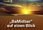 """""""BaMidbar"""" auf einen Blick"""