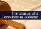 The Status of a Concubine in Judaism