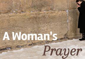 A Woman's Prayer
