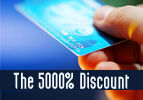 The 5000% Discount