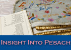Insight Into Pesach