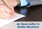 An Open Letter to Rebbe Nachman