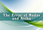 The Error of Nadav and Avihu