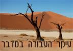עיקר העבודה במדבר - פרשת השבוע במדבר