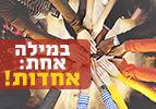 במילה אחת: אחדות - פרשת השבוע נצבים וילך