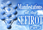 Manifestation of the Sefirot, Part 3
