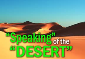 """Bamidbar: """"Speaking"""" Of The """"Desert"""""""